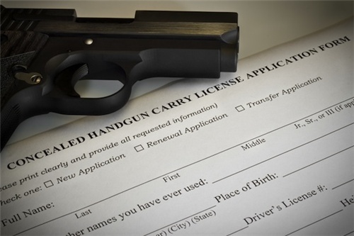 RI concealed handgun carry license application